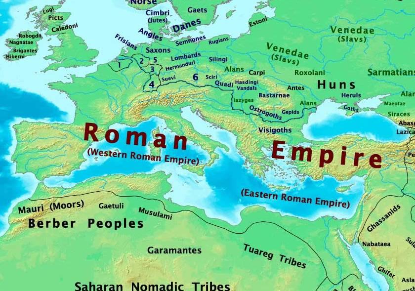 Principios del siglo V