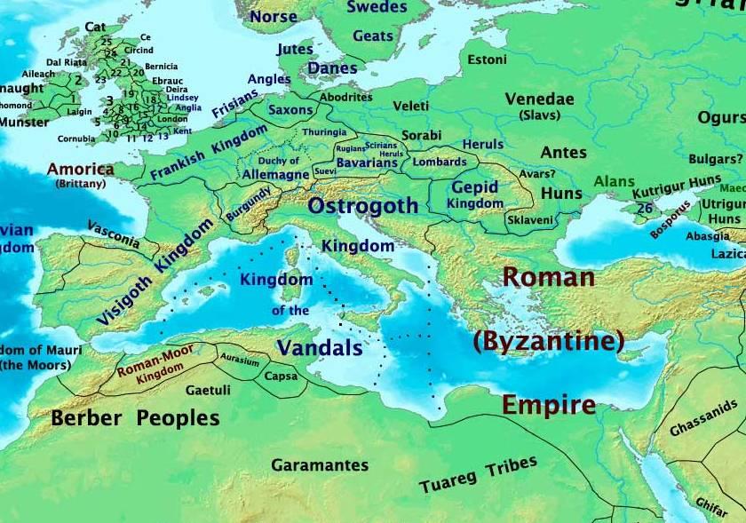 Finales del siglo V