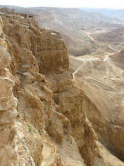 Acceso a Masada
